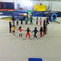 Photo taken at Skyview Gymnastics by Misti G. on 2/24/2013