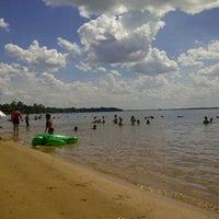 Photo taken at Playa Punta Norte by Francisco M. on 1/24/2014