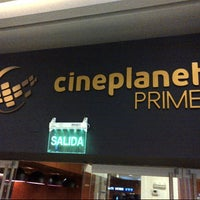 Photo taken at Cineplanet by César A. on 3/7/2013