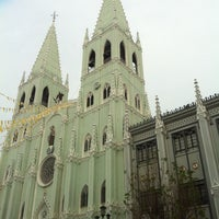 Photo taken at Minor Basilica of San Sebastian (Shrine of Our Lady Of Mount Carmel) by Avie S. on 7/11/2013