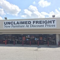 Photo Taken At Unclaimed Freight Furniture By Christopher J. On 8/5/2017 ...