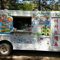 Photo taken at Hono's Shrimp Truck by jamey b. on 5/19/2015