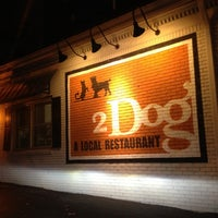 Photo taken at 2 Dog Restaurant by Joanne L. on 11/2/2012