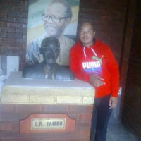 Photo taken at OR Tambo Garden of Remembrance by Mnoneleli G. on 7/18/2014