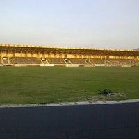 Photo taken at Stadion Kaharudin Nasution by Herman P. on 5/24/2013