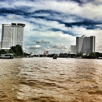 Photo taken at Wat Suwan Cross River Ferry Pier by bnz p. on 9/21/2012