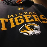 Photo taken at The Mizzou Store by Eric Z. on 11/1/2012