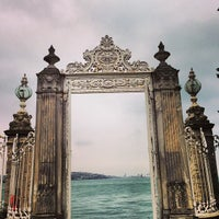 Photo taken at Dolmabahçe Palace by Igin I. on 12/22/2012