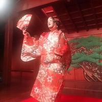 Photo taken at 山本能楽堂 by Takashi on 8/21/2014