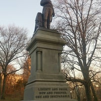 Photo taken at Statue of Daniel Webster by Takashi on 4/5/2015