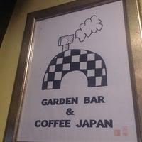 Photo taken at GARDEN BAR & COFFEE JAPAN by Takashi on 8/20/2014