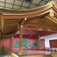 Photo taken at 山本能楽堂 by Takashi on 5/8/2017