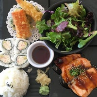 Photo taken at Wa Sushi by gina 🌸 千. on 1/31/2017