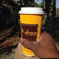 Photo taken at Kahwa Coffee by Desmond C. on 4/3/2014