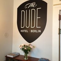 Photo taken at The Dude Hotel by Natalie G. on 5/21/2013