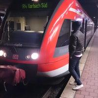 Photo taken at H Bahnhof Wilhelmshöhe by Akın Yigit U. on 12/2/2014