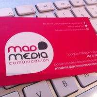 Photo taken at Mad Media Comunicación by Joaquín P. on 11/22/2012
