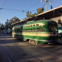 Photo taken at F Street Car Muni Stop - Don Chee Way by Will K. on 10/15/2013