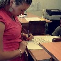 Photo taken at Rectorado Universidad Catolica Asuncion by Rosse R. on 1/12/2015