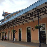 Photo taken at Gare SNCF d'Arcachon by Alienor O. on 7/30/2017