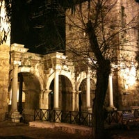 Photo taken at Hadrian's Gate by Sezer P. on 3/9/2013