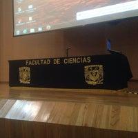 Photo taken at Auditorio Alberto Barajas by Daph R. on 8/4/2015