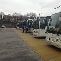 Photo taken at Parking Bus Ecole EU BXL II by Sacha D. on 3/1/2013