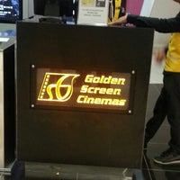 Photo taken at Golden Screen Cinemas (GSC) by Lina M. on 5/1/2013