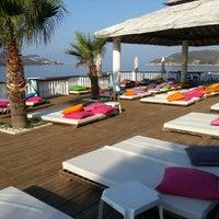 Photo taken at Kaş Marin Hotel Restorant by Kaş Marin H. on 8/18/2014