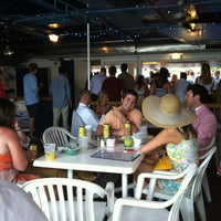 Photo taken at Dockside Restaurant & Bar by Jeff U. on 4/12/2013
