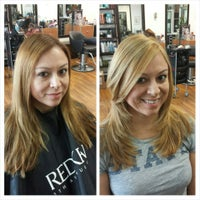 Photo taken at Innovations Hair Salon by Ana B. on 5/2/2015