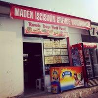 Photo taken at Ramis Dayı Çiğ Köfte by Ejder B. on 7/24/2014