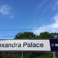 Photo taken at Alexandra Palace Railway Station (AAP) by Nils M. on 7/4/2014