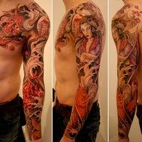 Blue blood custom tattoos tattoo parlor in bells corners for Blue blood tattoo