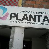 Photo taken at Gráfica Plantão by Adilio C. on 7/16/2014