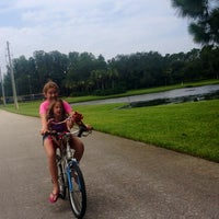 Photo taken at Pinellas County Trail by Eeryn F. on 7/25/2013