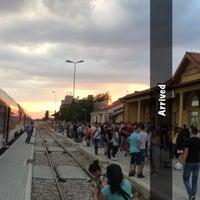 Photo taken at Железничка станица Прилеп / Prilep Train Station by Viktor V. on 7/15/2017