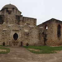 Photo taken at San Antonio Missions National Historical Park by Annika M. on 5/21/2016