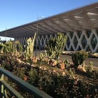 Photo taken at Marrakech Menara Airport (RAK) by Blondi on 4/2/2013