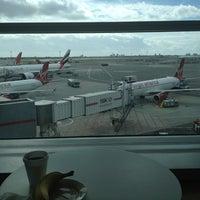 Photo taken at Wingtips Lounge by Blondi on 9/20/2012