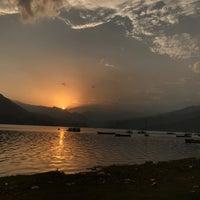 Photo taken at Phewa Tal / Fewa Lake by kom_thai k. on 5/23/2017