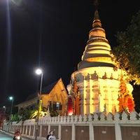 Photo taken at Wat Uppakut by kom_thai k. on 4/20/2017