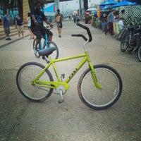 Photo taken at Sea Mist Skate & Bike Rentals by Catrina R. on 7/5/2013