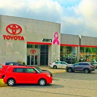 Photo taken at Jerry's Toyota by Jerry's Toyota on 9/4/2015