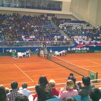 Photo taken at Daulet National Tennis Centre by Alisher A. on 4/5/2013