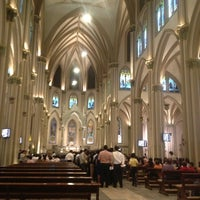 Photo taken at Catedral Metropolitana de Guayaquil by Natalia L. on 8/29/2013