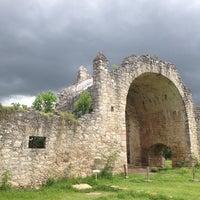 Photo taken at Zona Arqueológica de Dzibilchaltún by Harley Davidson on 9/13/2014