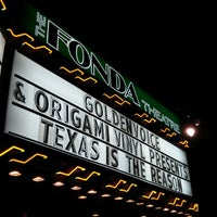 Photo taken at The Fonda Theatre by Eric P. on 3/31/2013