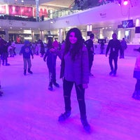 Photo taken at Westfield Ice Rink by Rugiyya G. on 12/30/2016