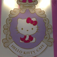 Photo taken at Hello Kitty Cafe by Sheryl A. on 8/31/2014